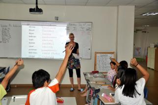 me teaching 2-2